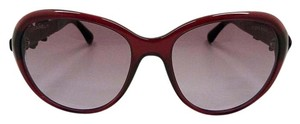 Chanel CHANEL Bordeaux Oval Camellias Women's Sunglasses 5316-Q