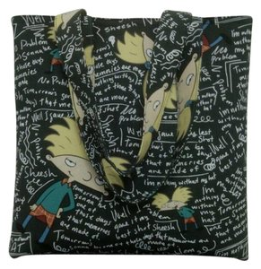 Hey Arnold Tote in black