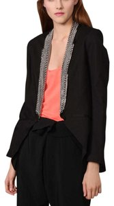 Mason by Michelle Mason Black Blazer