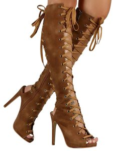 Liliana Chestnut Boots