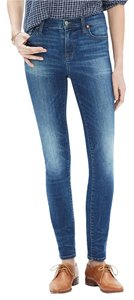 Madewell Skinny High Rise Skinny High Rise Ankle Stretch Skinny Jeans-Medium Wash