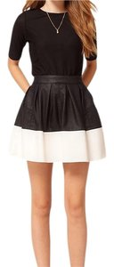 ASOS Mini Skirt Black/White