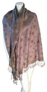 Other Star Themed Fringed Scarf