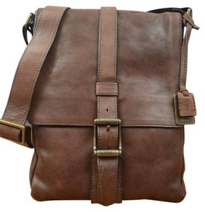 Frye Brown Messenger Bag