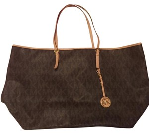 Michael Kors Monogram Tote Neverfull Shoulder Bag