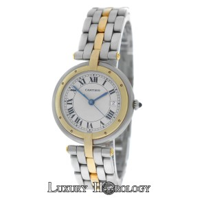 Cartier Lady's Cartier Panthere Vendome Cougar 1 Row 18K Gold 30mm