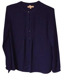 Banana Republic Button Down Shirt Deep Purple