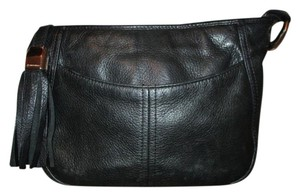 B. Makowsky Leather Convertable Cross Body Bag