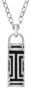 Tory Burch For Fitbit Pendant Necklace, Tory Silver