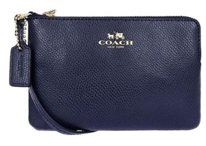 Coach Style Number 52392 Wristlet in Midnight Blue