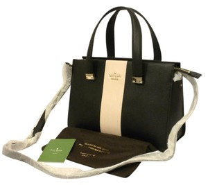 Kate Spade Gail Ks Concord Gail Pxru6231 Gail Ks Kate S Gail Satchel in black/white