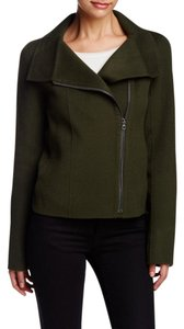 Vince Wool Military Funnel Military Jacket