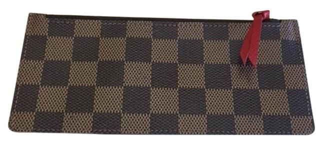 Item - (Damier Ebene) Josephine Great Condition Pouch Insert Cosmetic Bag