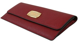 Michael Kors NEW WITH TAGS Michael Kors Jet Set Cherry Flat Wallet