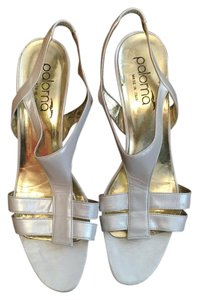Paloma Picasso White Sandals