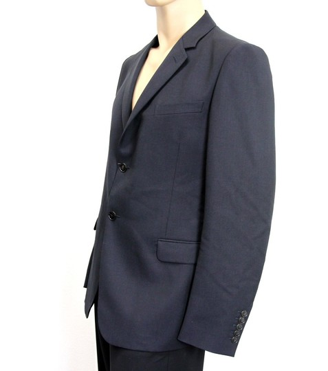 Gucci Navy Men's Wool/Mohair Coat Jacket Blazer Eu 52/ Us 42 295389 Groomsman Gift Image 1