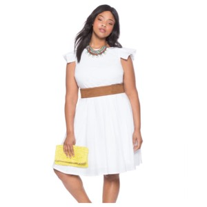 The Limited short dress White on Tradesy