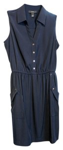 Alfani short dress navy blue on Tradesy