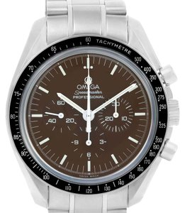 Omega Omega Speedmaster Brown Dial Exhibition Moon Watch 311.30.42.30.13.001