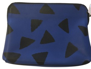 3.1 Phillip Lim Bright Cobalt/Black Clutch