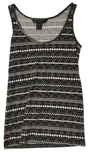 Marc by Marc Jacobs Prints Patterns White Cute Graphic Top black