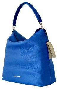 Burberry Tote Satchel Blue Hobo Bag