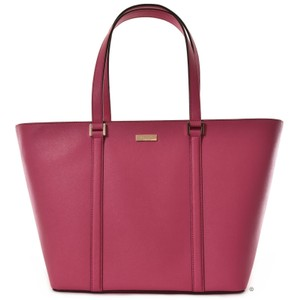 Kate Spade Saffiano Leather Tote in Sweetheart Pink