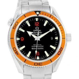 Omega Omega Seamaster Planet Ocean Orange Bezel Mens Watch 2209.50.00