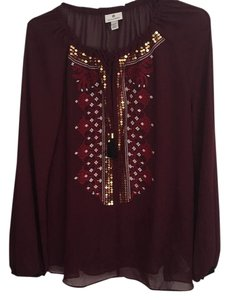 Altazurra for Target Top Burgundy