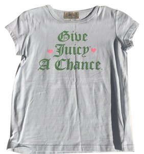 Juicy Couture T Shirt Baby Blue