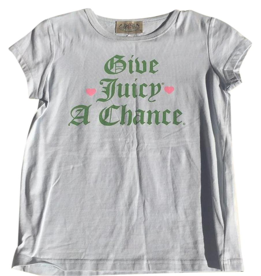 d0d7b167 Juicy Couture Baby Blue Tee Shirt Size 6 (S) - Tradesy