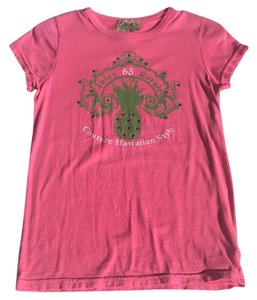 Juicy Couture T Shirt Pink/green