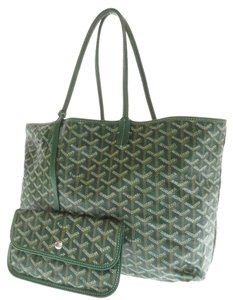 Goyard St. Louis Pm Tote in Green