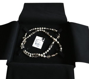 Chanel Chanel pearl and multi-colored bead necklace