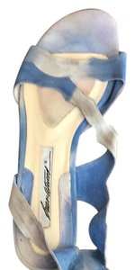 Brian Atwood Blue Sandals