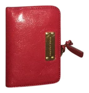 Marc Jacobs leather red wallet