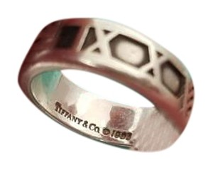 Tiffany & Co. Tiffany & Co Atlas Ring Roman Numeral Band - Size 7