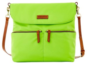 Dooney & Bourke Nylon Neon Green Messenger Bag