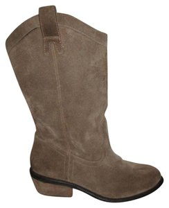 Jessica Simpson Leather Suede Western brown Boots