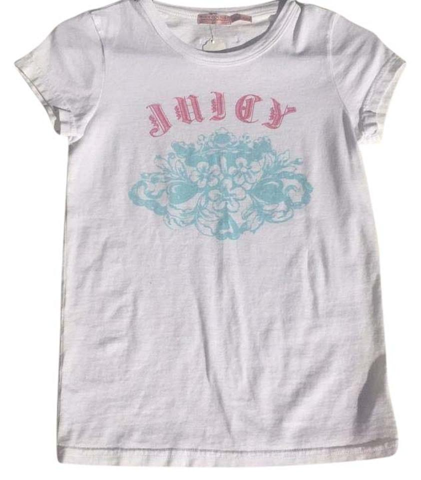 a032ea41 Juicy Couture White Tee Shirt Size 6 (S) - Tradesy