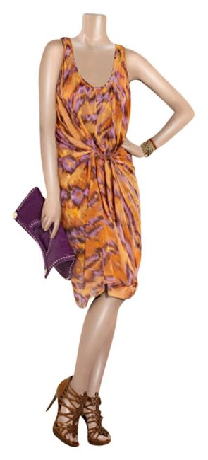 Preload https://item3.tradesy.com/images/diane-von-furstenberg-orange-violet-and-dark-brown-tiger-print-silk-chiffon-knee-length-cocktail-dre-200562-0-0.jpg?width=400&height=650
