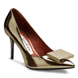 Acne Studios Dark Sand Pumps