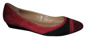 Talbots wine multi Wedges