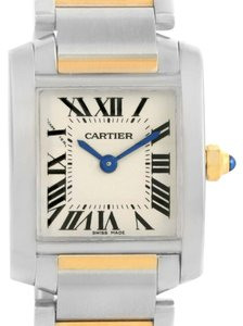Cartier Cartier Tank Francaise Steel Yellow Gold Watch W51007Q4 Box Papers
