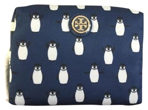 Tory Burch New!!! Penguin print Cosmetic Case