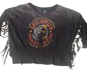 Affliction T Shirt Washed black