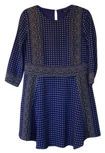 Madewell short dress Blue on Tradesy