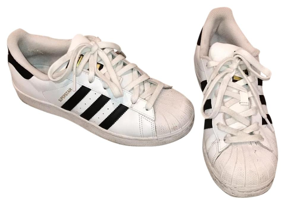 adidas Sneakers White Superstar Shell Toe Sneakers adidas c665be