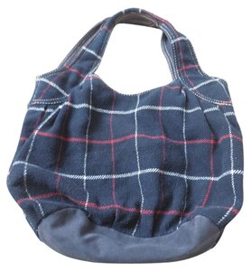 American Eagle Outfitters Plaid Logo Hobo Bag