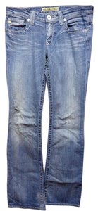 Big Star Medium Wash Boot Cut Jeans-Medium Wash